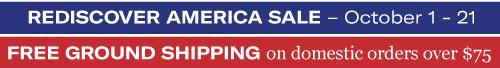 The Rediscover America Sale
