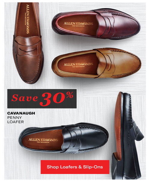Save 30% on the Cavanaugh Penny Loafer