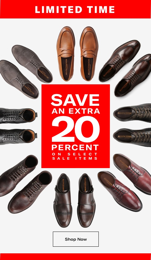 Save an Extra 20% on Select Sale Items